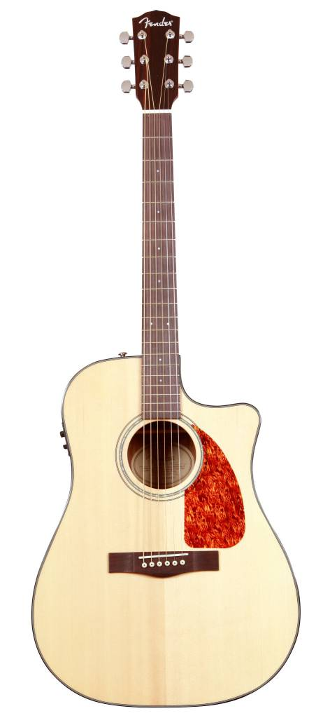 Fender Fender CD280SCE Solid Top Acoustic/Electric, Natural