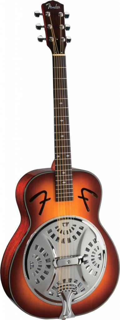 Fender Fender FR50 Resonator, Round Neck, Sun Burst