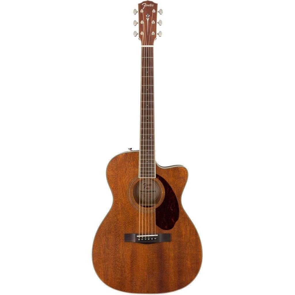 Fender Fender PM-3 Triple-0 All Mahogany with Case, Natural