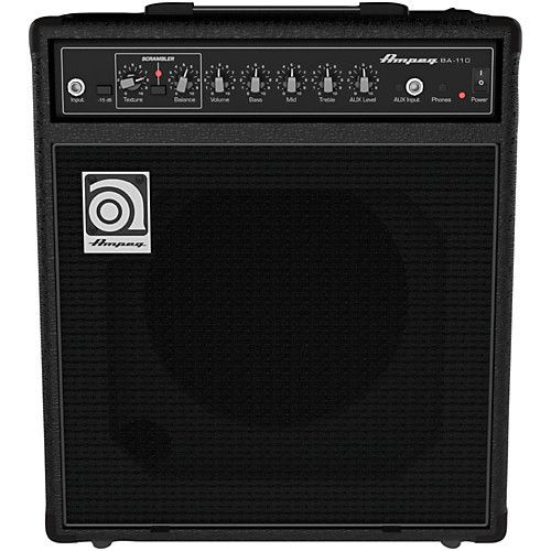 """Ampeg Ampeg BA-110 40W RMS, Single 10"""" Combo with Scrambler"""