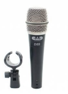 CAD Cad D89 Premium Supercardioid Dynamic Instrument Microphone