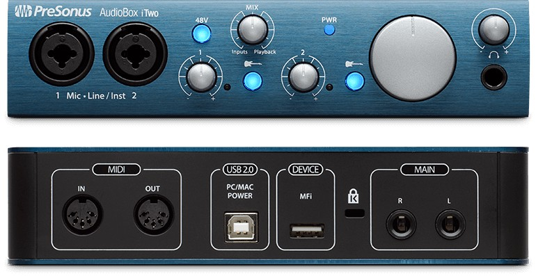 Presonus PreSonus AudioBox iTwo USB2.0/iPad/Midi Interface
