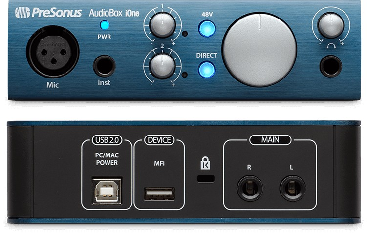 Presonus PreSonus AudioBox iOne USB2.0/iPad Recording Interface