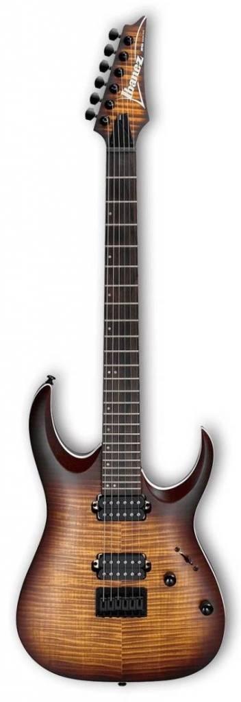Ibanez Ibanez RGA42 Flame Maple Top/Mahogany Electric Guitar-Dragon Eye Burst Flat