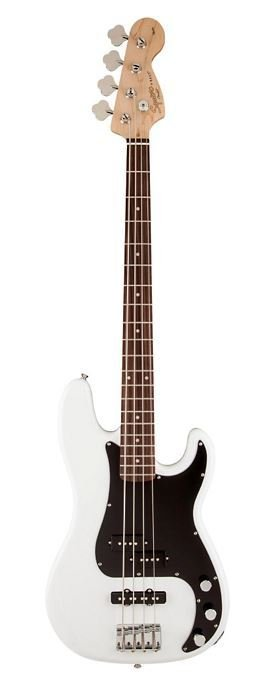 Squier Squier Affinity SeriesTM Precision Bass® PJ, Rosewood Fingerboard, Olympic White