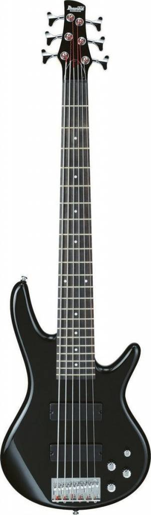 Ibanez Ibanez Gio 200 Series 6 Strg Bass, Gloss Black