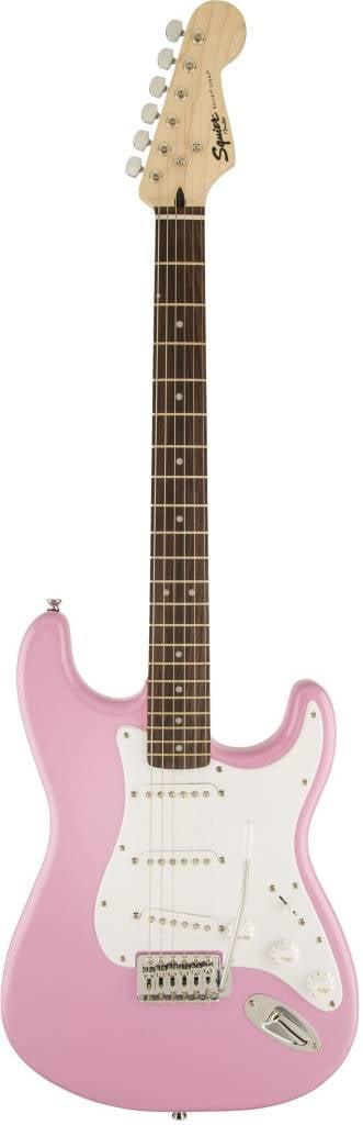 Squier Squier Bullet® Strat® with Tremolo, Rosewood Fingerboard, Pink