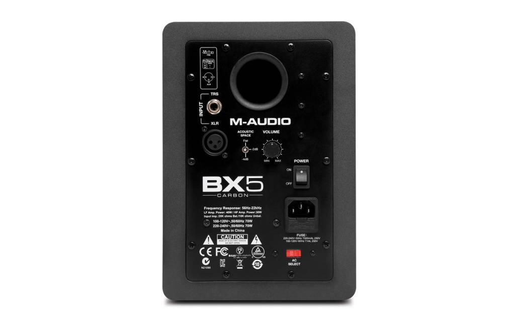 M-Audio M Audio BX5 Carbon Studio Monitors