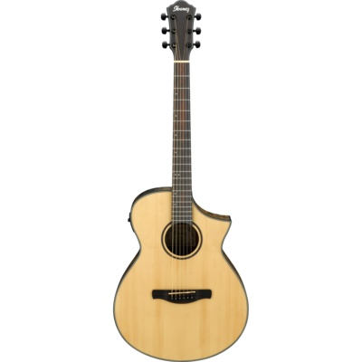 Ibanez Ibanez AEWC24MB Acoustic/Electric Guitar, Open Pore Natural