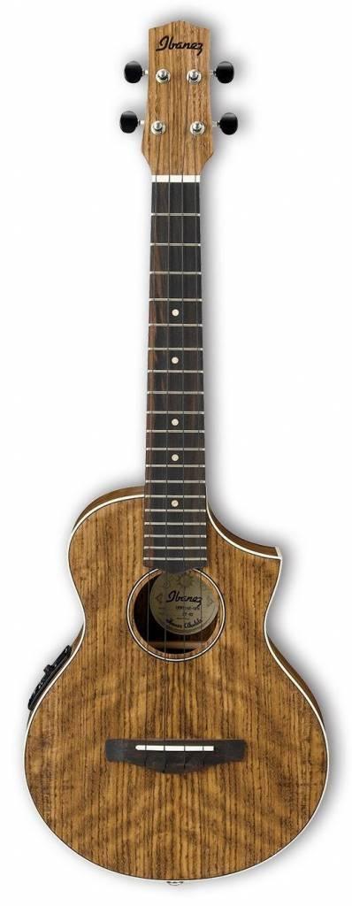 Ibanez Ibanez UEWT14E Acoustic/Electric Tenor Ukelele, Ovankol