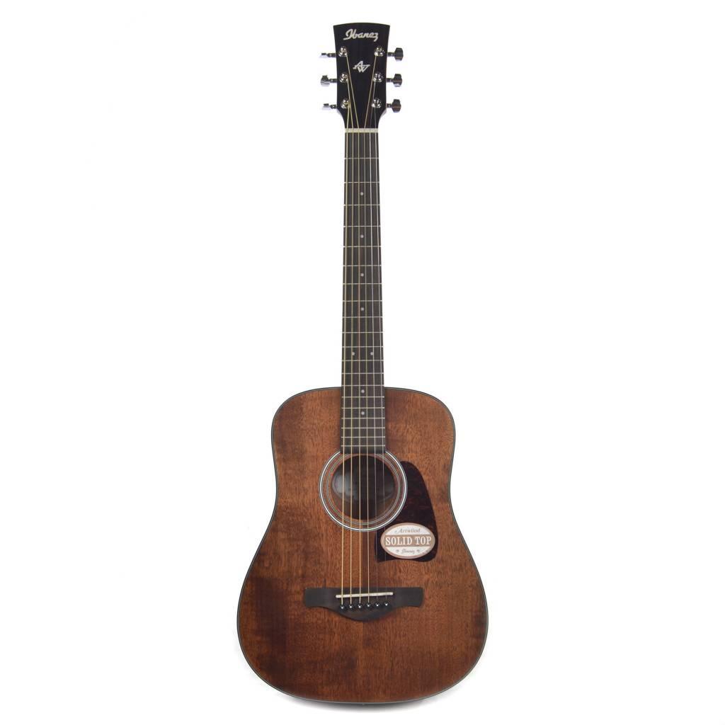 Ibanez Ibanez AW54MINIOPN Artwood Vintage Mini-Acoustic Guitar, Mahogany