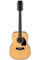 Ibanez Ibanez PF1512NT 12-String Acoustic Guitar, Natural