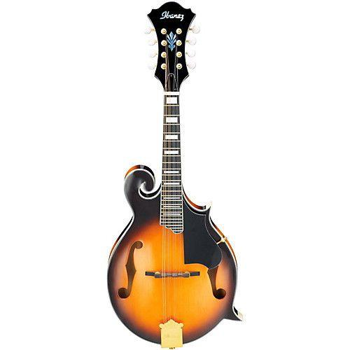 Ibanez Ibanez M522S F-Style Acoustic/Electric Mandolin, Brown Sunburst