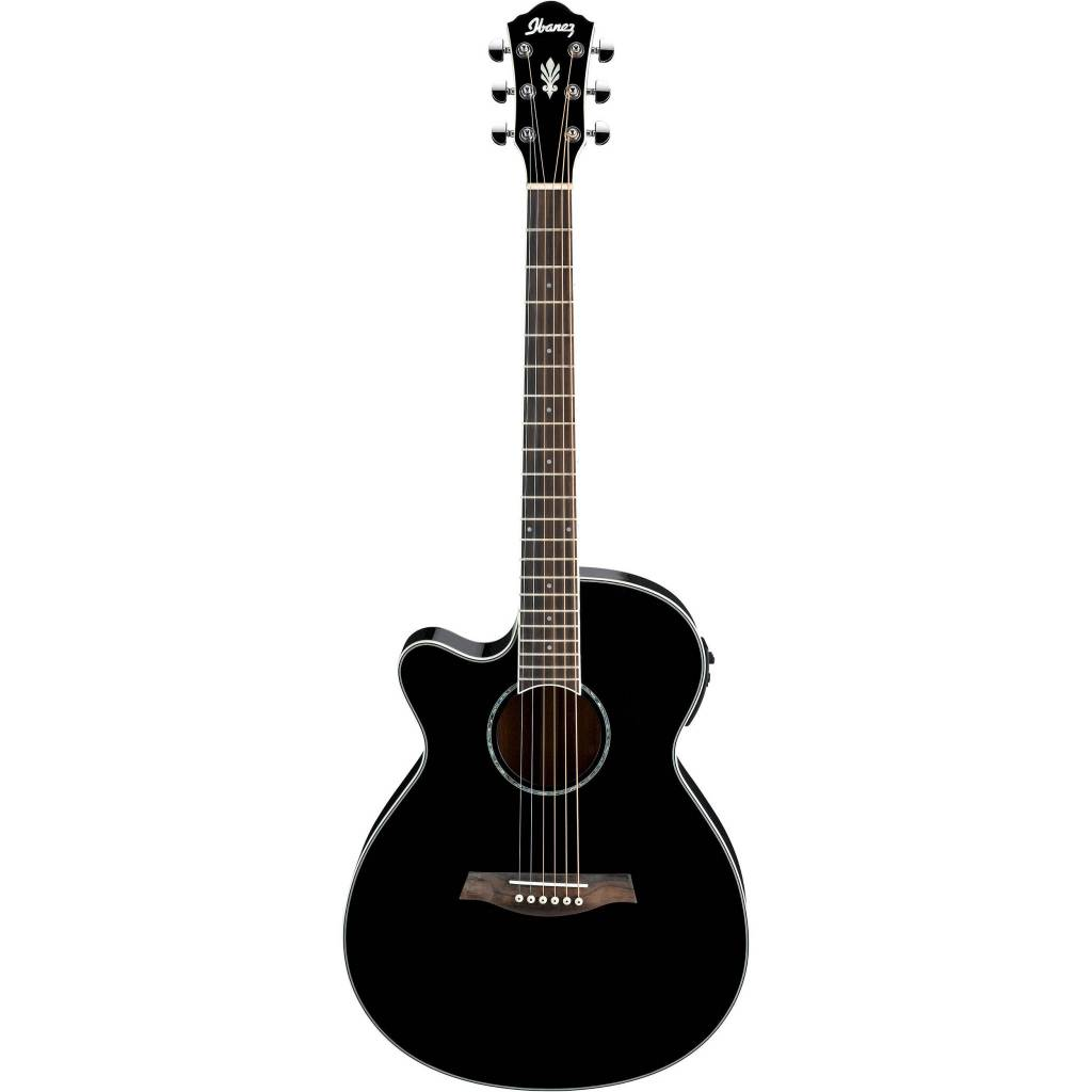 Ibanez Ibanez AEG10IIBK Acoustic/Electric Guitar, Black