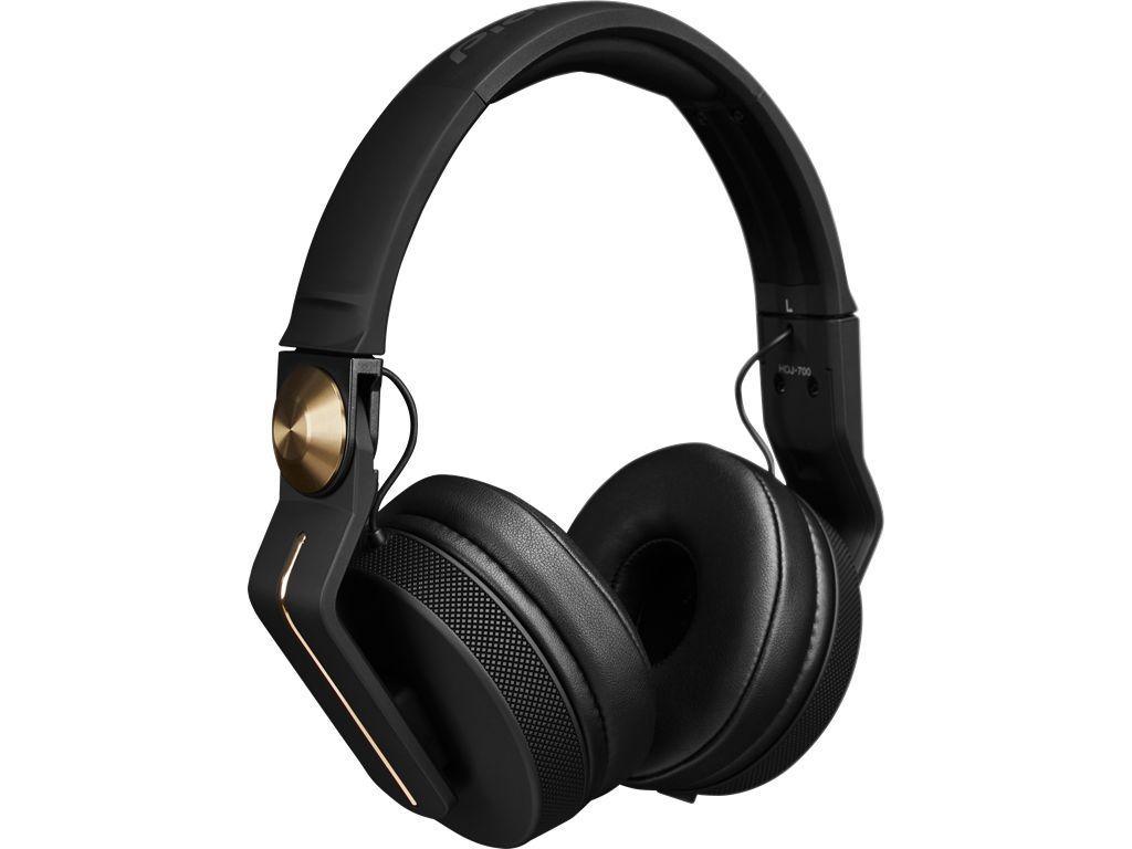 Pioneer HDJ-700-N DJ Headphones w/ Gold Stripe