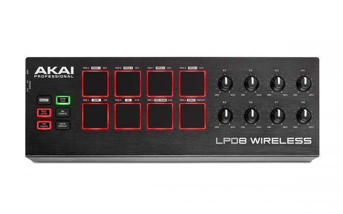 AKAI LPD8 Wireless Controller