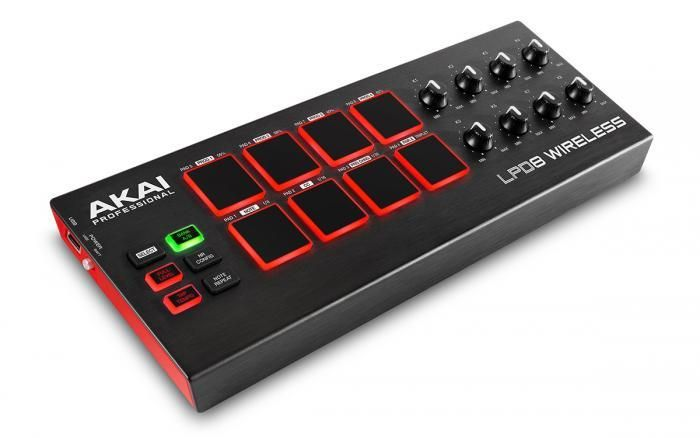 Akai AKAI LPD8 Wireless Controller