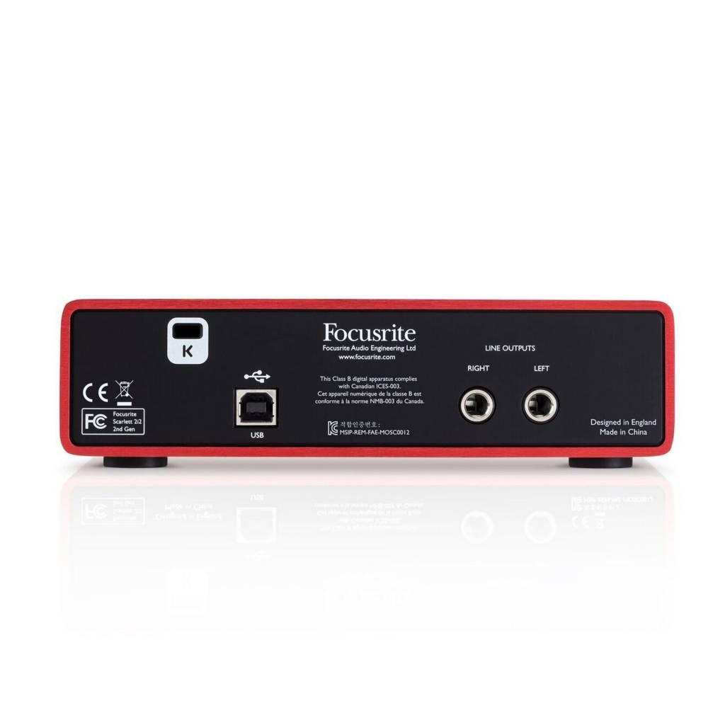 Focusrite Scarlett 2i2 USB Interface