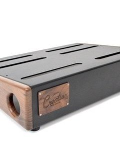 Creation Music Company Creation Elevation Series Pedalboard - 17x12.5 - Walnut