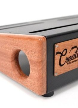 Creation Music Company Creation Elevation Series Pedalboard - 24x12.5 - African Mahogany