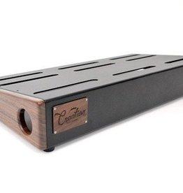 Creation Music Company Creation Elevation Series Pedalboard - 24x12.5 - Walnut