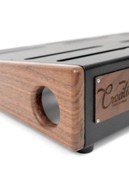 Creation Music Company Creation Elevation Series Pedalboard - 24x16 - Walnut