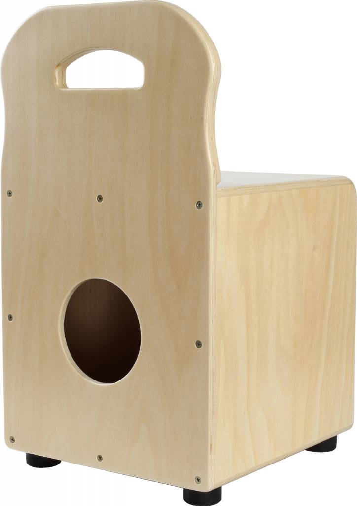 Stagg Kid Cajon, Natural With Backrest
