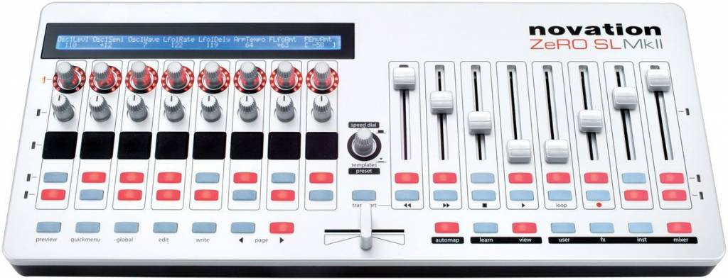 Novation ZeRO SLMkII USB/Midi Control Surface