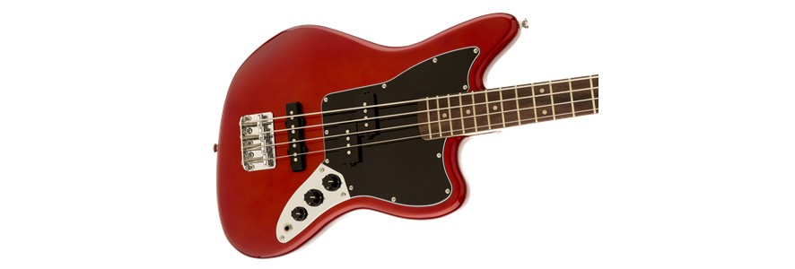 Squier Squier Vintage Modified Jaguar® Bass Special SS, Rosewood Fingerboard, Candy Apple Red