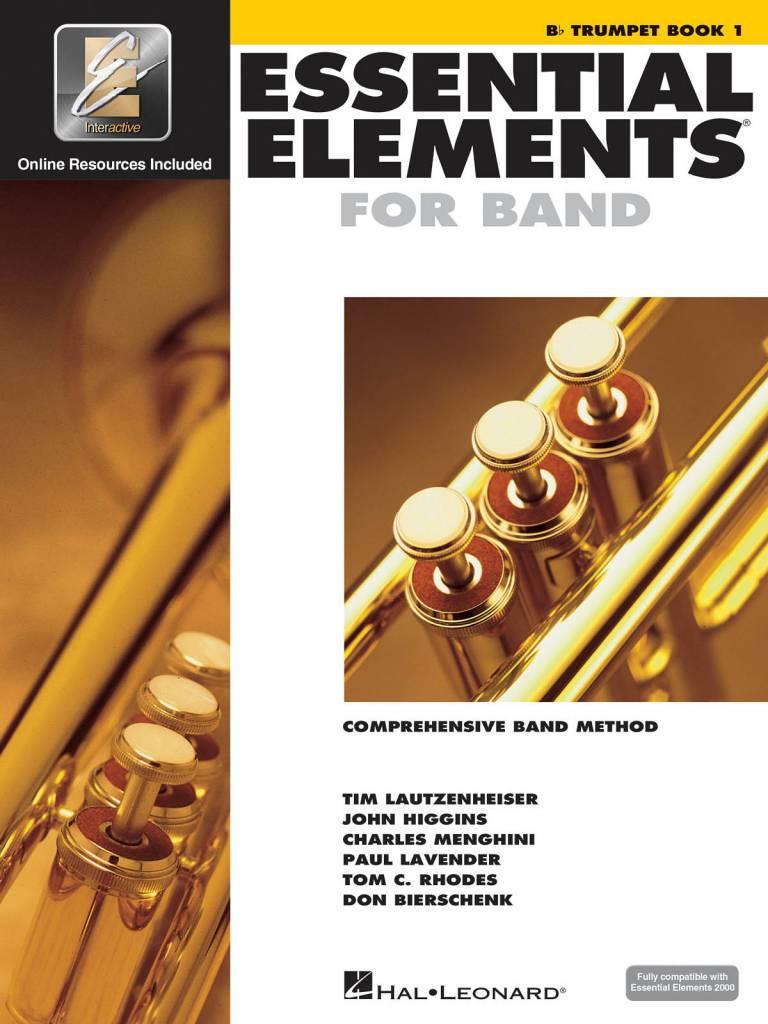 Hal Leonard Essential Elements Trumpet Book 1
