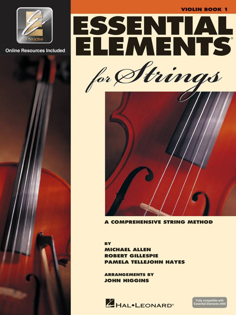 Hal Leonard Essential Elements Violin Book 1