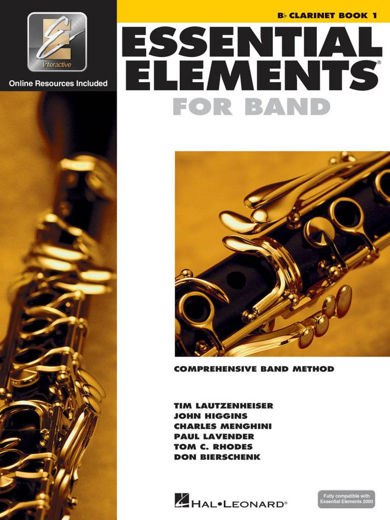 Hal Leonard Essential Elements Clarinet Book 1