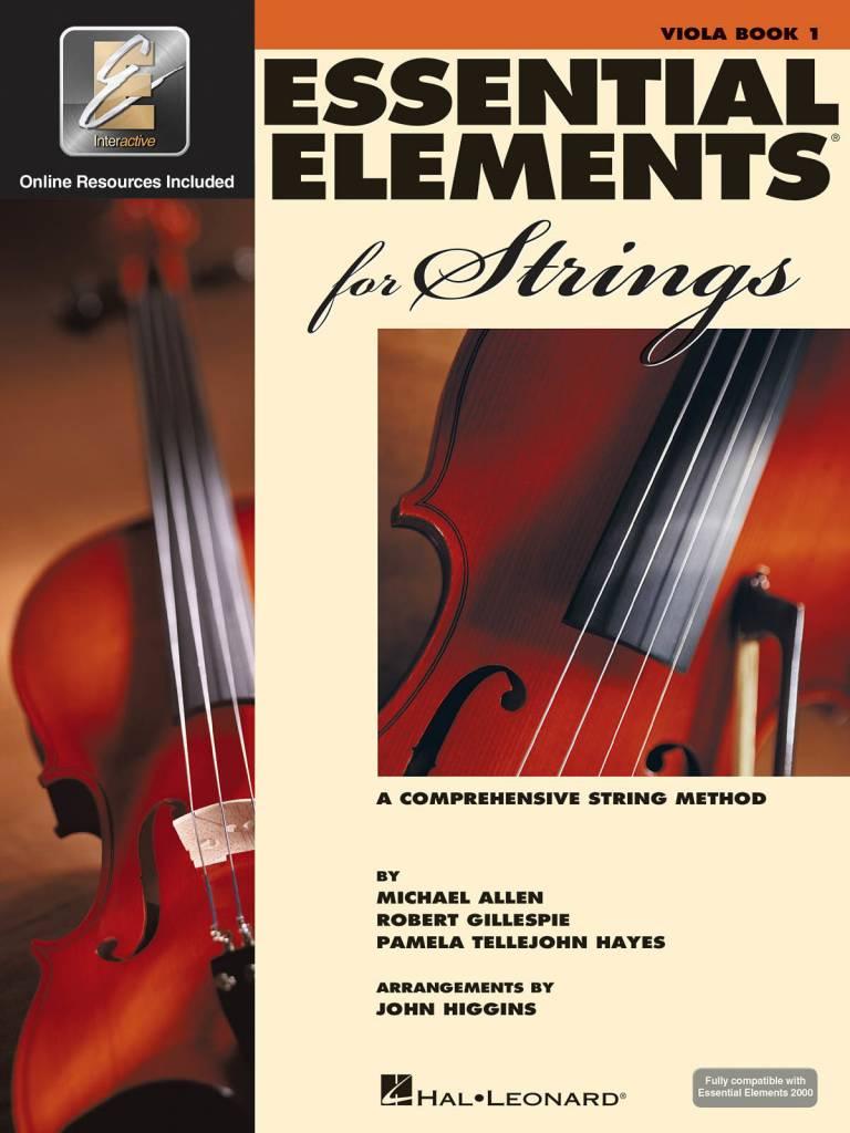 Hal Leonard Essential Elements Viola Book 1