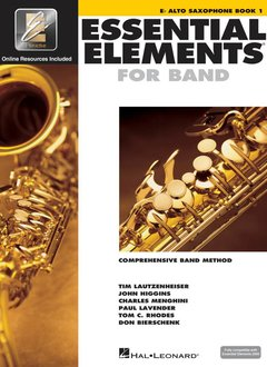 Hal Leonard Essential Elements E-Flat Alto Sax Book 1