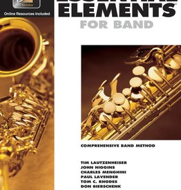 Essential Elements E-Flat Alto Sax Book 1