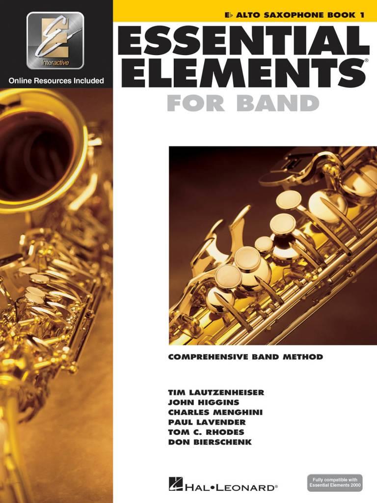 Essential Elements E-Flat Alto Sax Book 1