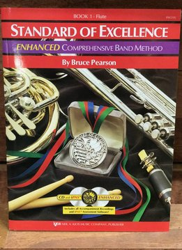 Kjos Standard of Excellence Enhanced Flute Book 1