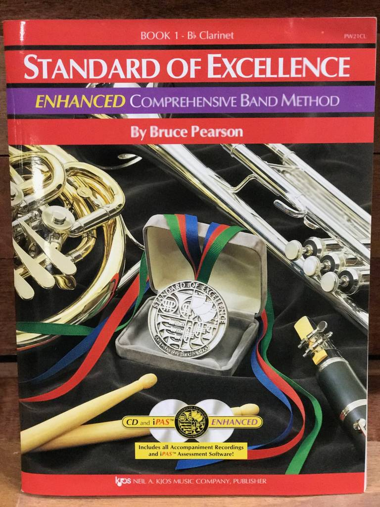 Kjos Standard of Excellence 1 Enhanced Clarinet