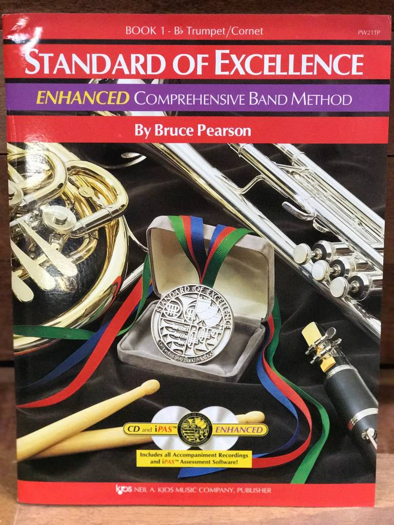 Kjos Standard of Excellence 1 Enhanced Trumpet