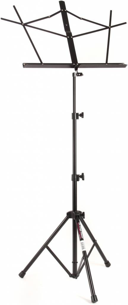 On-Stage On-Stage SM7222BB Tubular Tripod Base Sheet Music Stand w/ Bag-Black