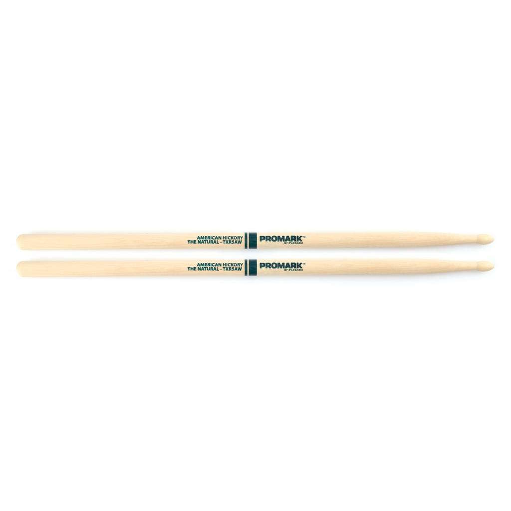 "Pro-Mark ProMark Hickory 5A ""The Natural"" Wood Tip"