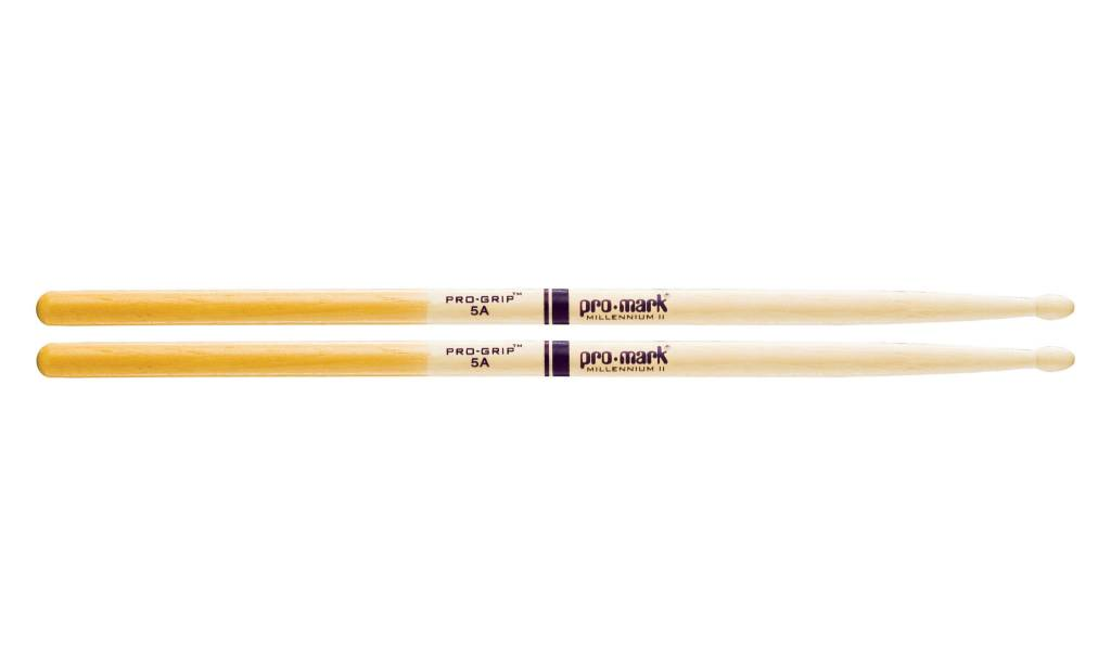 Pro-Mark ProMark 5A Wood Tip Pro Grip Sticks