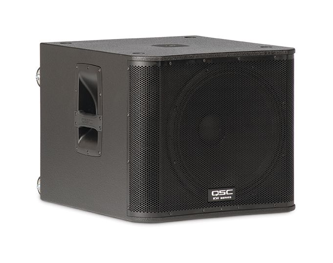 """QSC QSC KW181 1000W 18"""" Powered Subwoofer"""