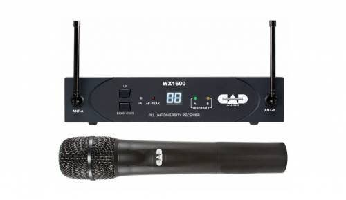 CAD Cad WX1600 Wireless Handheld Wireless Microphone
