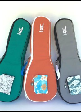 GiGY GiGY Tenor Ukulele Gig Bag- Navy/White