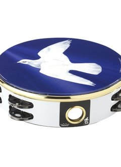 """Remo 8"""" Tambourine - Dove Graphics"""