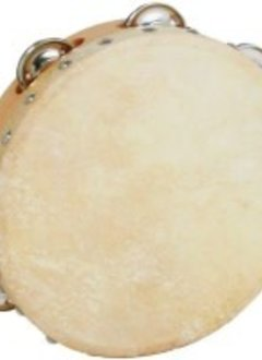 "Economy 10"" Single Row Tamborine With Head"