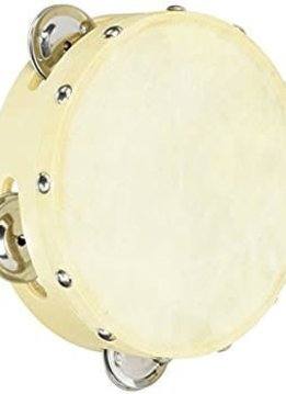"Economy 8"" Single Row Tamborine With Head"