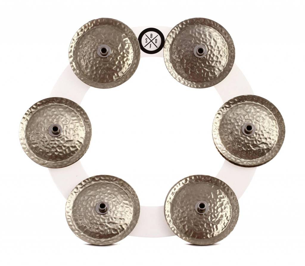 Big Fat Snare Big Fat Bling Ring - White Copper