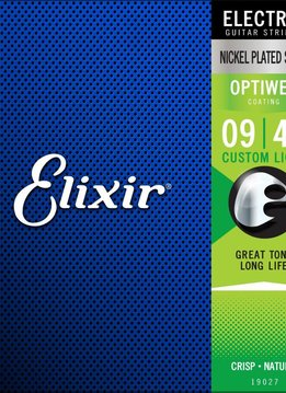 Elixir Elixir OptiWeb Electric Custom Light 9-46